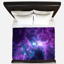 Cute Carina nebula King Duvet