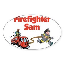 Cute Personalized fire truck Decal