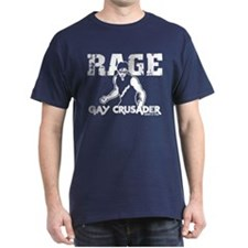 QaF Rage Gay Crusader T-Shirt