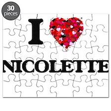 I Love Nicolette Puzzle