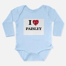 I Love Paisley Body Suit