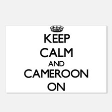 Keep calm and Cameroon ON Postcards (Package of 8)