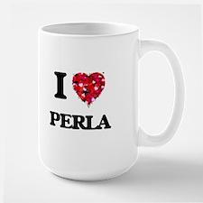 I Love Perla Mugs