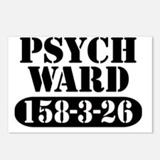 Psych Ward Postcards (Package of 8)