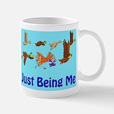 Duck: Just Being Me (Large Illustration Mug