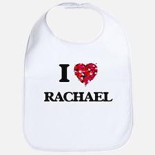 I Love Rachael Bib