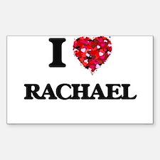 I Love Rachael Decal