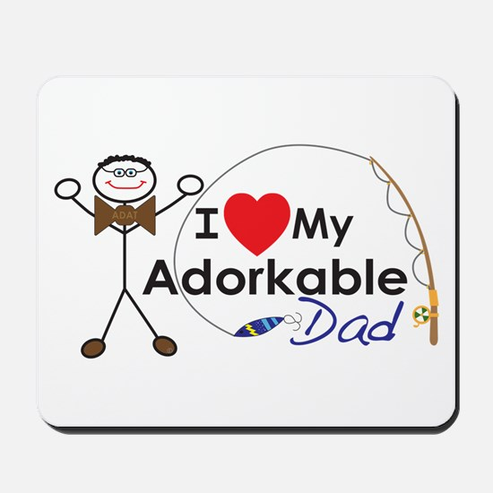 Adat Happy Father's Day Mousepad