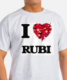 I Love Rubi T-Shirt