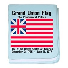 Grand Union Flag baby blanket