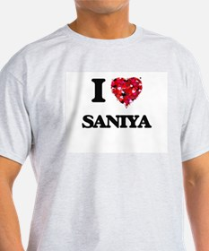 I Love Saniya T-Shirt