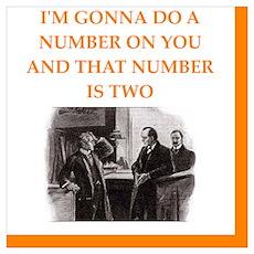 221b joke Poster
