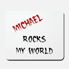 Michael Rocks Mousepad