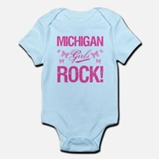 Michigan Girls Rock Body Suit