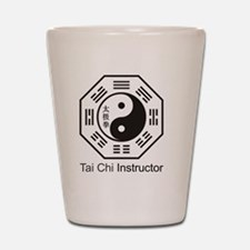 Cute Tai chi chuan Shot Glass