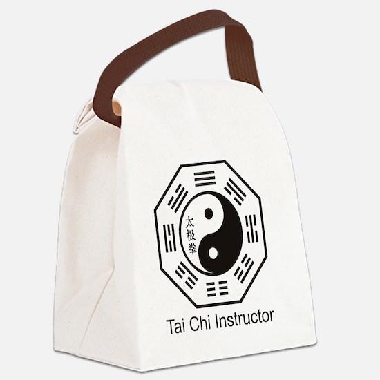 Unique Tai chi Canvas Lunch Bag