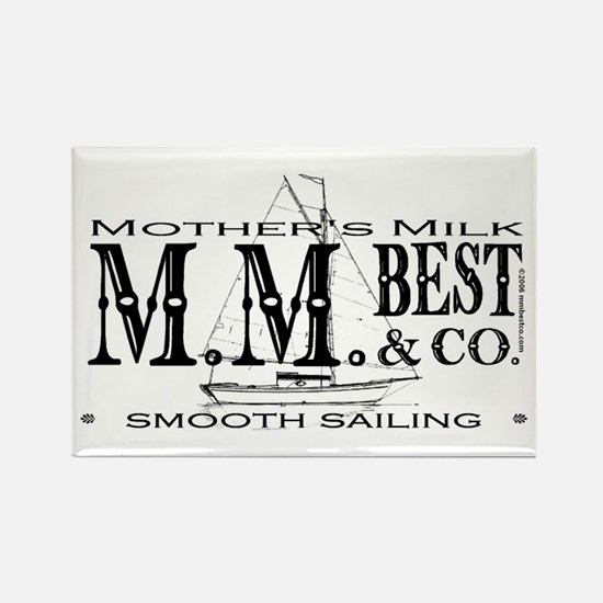 Smooth Sailing Rectangle Magnet