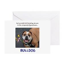Bulldog Greeting Cards (Pk of 10)