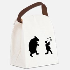 Popcorn Canvas Lunch Bag