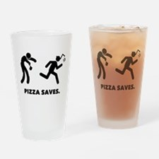 Pizza Drinking Glass