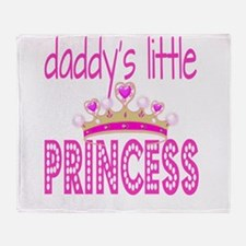 Daddy's Little Princess! Throw Blanket