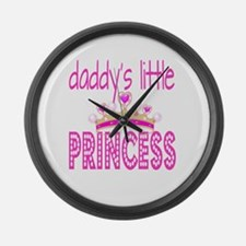 Daddy's Little Princess! Large Wall Clock
