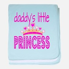 Daddy's Little Princess! baby blanket