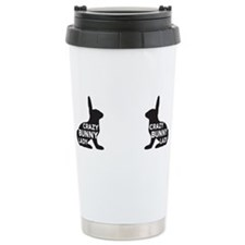 Cute Bunny lovers Travel Mug