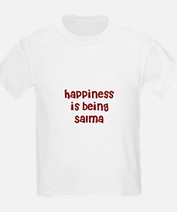 happiness is being Salma T-Shirt