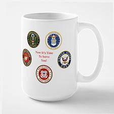 Now It's Time To Serve You! Mug Mugs