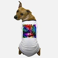 Artsy Rainbow Tiger Dog T-Shirt