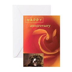 Anniversary Greeting Cards (Pk of 10)