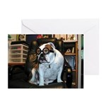 Humor Bulldog Greeting Cards (Pk of 10)