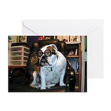 Humor Bulldog Greeting Cards (Pk of 10)
