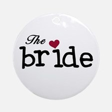 The Bride Ornament (Round)