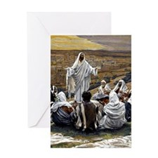 The Lord's Prayer, James Tissot pain Greeting Card