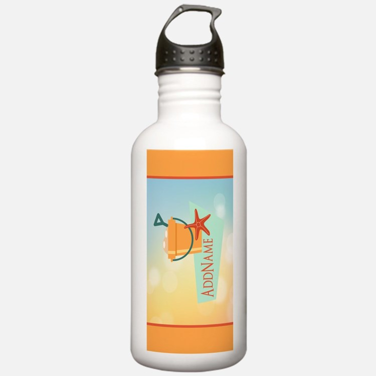 Personalized Beach Sta Water Bottle