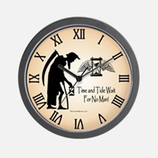 Old Father Time Wall Clock