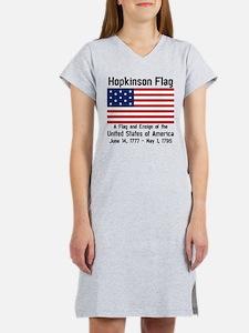 Hopkinson Flag DS Women's Nightshirt