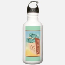 Summber Beach Flip Flo Water Bottle
