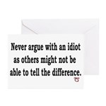 No Need to Argue Greeting Cards (Pk of 10)
