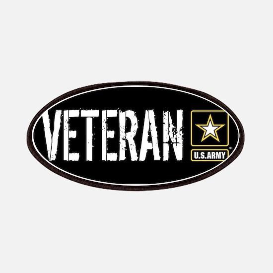 U.S. Army: Veteran (Black) Patch