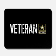 U.S. Army: Veteran (Black) Mousepad
