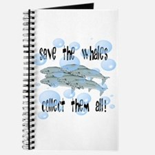 Save the Whales - Collect Them All! Journal