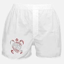 Tribal Turtle Scuba Flag Boxer Shorts