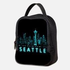 Digital Cityscape: Seattle, Was Neoprene Lunch Bag