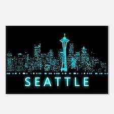 Digital Seattle Postcards (Package of 8)