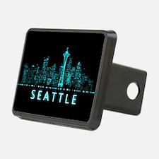 Digital Cityscape: Seattle Hitch Cover