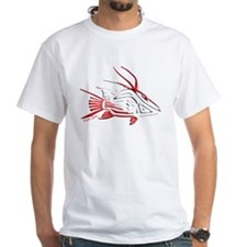 Tribal Hogfish Scuba Flag T-Shirt