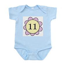 Funny Eleven Infant Bodysuit